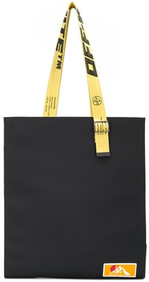 Off-White industrial straps tote