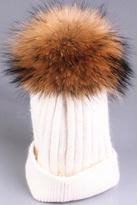 Tigerlily Mink Pompom Hat