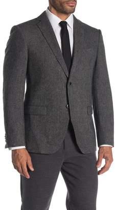 John Varvatos Baxter Solid Notch Collar Suit Separate Sportcoat
