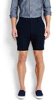 modern Men's Plaid Shorts-Fresh Khaki Floral
