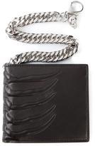 Alexander McQueen skeleton chain wallet
