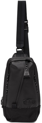 Master-piece Co Master Piece Co Black Slick Shoulder Backpack