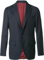 Caruso button-down blazer - men - Cupro/Wool/Bemberg - 48