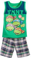 Nannette 2-Pc. Ninja Turtles Graphic-Print Tank Top & Shorts Set, Toddler Boys (2T-4T)