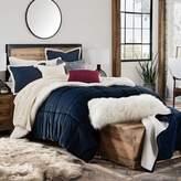 UGG Hudson Reversible 3-Piece King Comforter Set in Navy