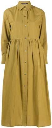 Sofie D'hoore long-sleeve flared midi dress