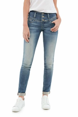 Salsa Mystery Push up Slim Premium wash Jeans Blue