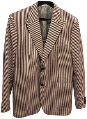 Hermes Brown Cotton Jackets