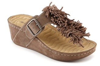 David Tate Fiesta Wedge Sandal