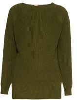 ADAM by Adam Lippes Ribbed-knit cotton and cashmere-blend sweater