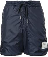 Thom Browne drawstring track shorts - men - Polyester - 2