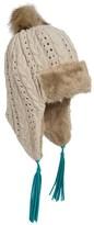 Pistil Odette Cable-Knit Trapper Beanie (For Women)