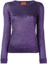Missoni glittery jumper - women - Polyester/Cupro/Viscose - 42