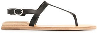 Officine Creative Thong-Strap Leather Sandals