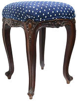 One Kings Lane Vintage Antique French Vanity Stool
