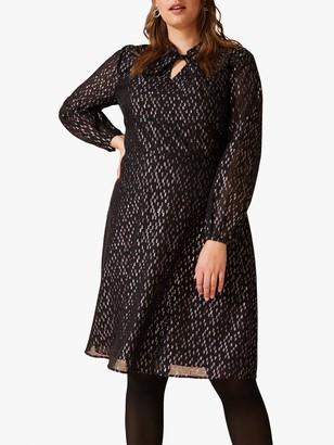 Studio 8 Bonnie Sparkle Dress, Black/Multi