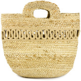 Magid Women's Handbags NATURAL - Natural Wave-Accent Woven Tote