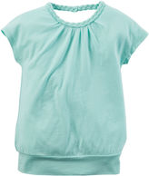 Carter's Short-Sleeve Cinched-Bottom Shirt - Preschool Girls 4-6x