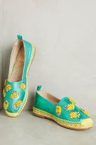 Anthropologie Castaner Beaded Pineapple Espadrilles