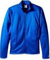 Soffe Men's Adlt Poly Tech Fleece Jacket
