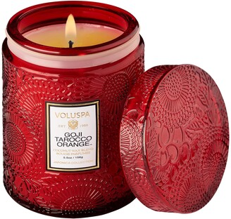 Voluspa Goji & Tarocco Orange Glass Jar Candle
