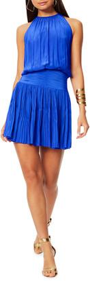 Ramy Brook Jacqueline Smocked Mini Dress