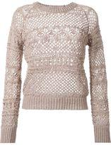 GUILD PRIME knit sweater - women - Cotton/Acrylic/Nylon - 34