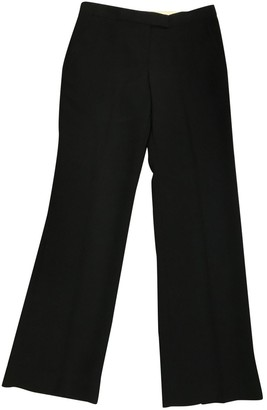By Malene Birger Black Synthetic Trousers