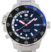 IWC Men's Aquatimer 46mm Steel Bracelet & Case Sapphire Crystal Automatic Dial Analog Watch IW354703