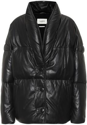 Etoile Isabel Marant Carterae leather puffer jacket