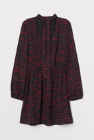 H&M Dress with Ties - Red