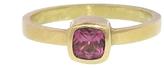 Annette Ferdinandsen Small Pink Tourmaline Stacking Ring - Yellow Gold