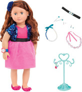 "Our Generation Aura 18"" non Poseable Doll With Jewelery"