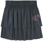 Catimini Dotted skirt with flounces