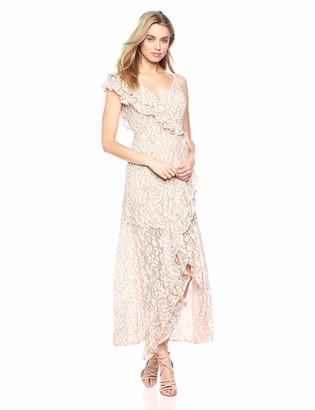 Ali & Jay Women's Lace Maxi Dress Cut-Out Long Gown