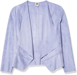 Anne Klein Women's Drape Front Jacket