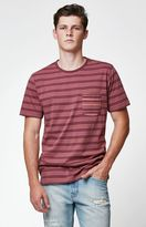 Modern Amusement Furud Striped Pocket T-Shirt