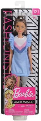 Barbie Fashionistas Doll - Ruffle Dress, Prosthetic Leg