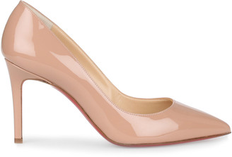 Christian Louboutin Pigalle 85 nude patent pump