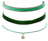 Charlotte Russe Stackable Choker Necklaces - 3 Pack