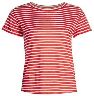 Majestic Filatures Striped Crew T-Shirt