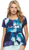 Juicy Couture Women's Floral Peplum Tee