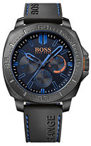 HUGO BOSS Boss Orange Sao Paulo Black IP Stainless Steel Black Leather Strap Chronograph