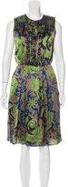 Etro Silk Midi Dress