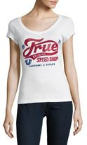 True Religion Sequin-Embellished Tee