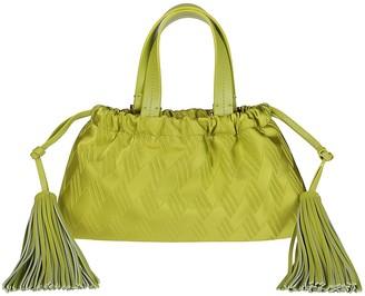 ATTICO Jacquard Tassel Tote Bag
