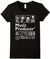 Special Tee Women's Music Producer Multitasking Beer Coffee Problem T-Shirt Small