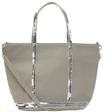 Vanessa Bruno Small Canvas And Sequins Cabas Tote Bag