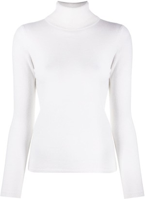 Allude Slim Fit Cashmere Jumper