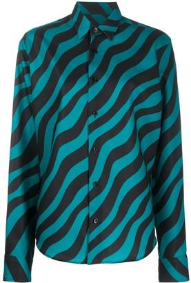 Ami Zebra Print Shirt